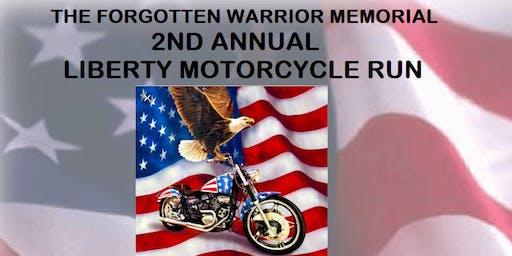 2nd Annual Liberty Motorcycle Run