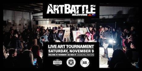 Art Battle Melbourne - 9 November, 2019 tickets