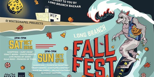 Become a vendor at Long Branch Fall Fest!