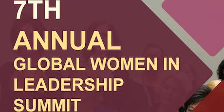 7th Global Women in Leadership Summit April 15th -16th, 2020 New York tickets