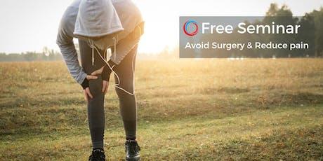 Free Seminar: Avoid Surgery & Reduce Pain - Kansas City Dec 10 tickets