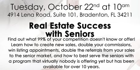 Real Estate Success with Seniors tickets