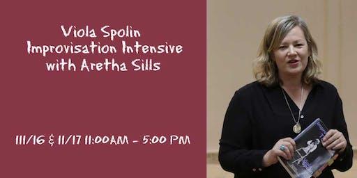 Viola Spolin Improvisation Intensive with Aretha Sills