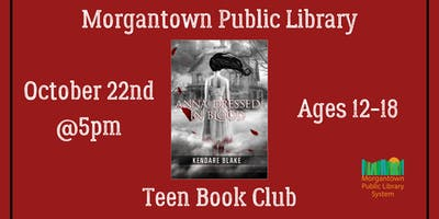 Teen Book Club (Ages 13-18): Anna Dressed in Blood