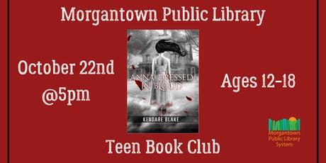 Teen Book Club (Ages 13-18): Anna Dressed in Blood tickets