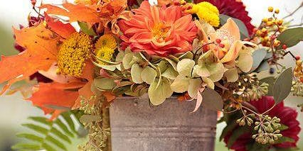 Sips and Stems-Fall French Floral Bucket