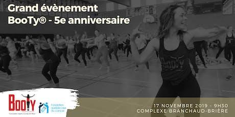Grand Évènement BooTy® 5e anniversaire - Rassemblement billets