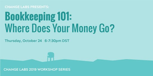 Bookkeeping 101:  where does your money go?