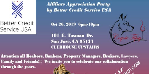 Affiliate Appreciation Party/Masquerade by Better Credit Service USA