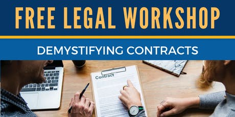 NBCLC's 3rd Friday Legal Workshop Series tickets
