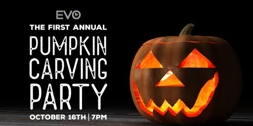 EVO Pumpkin Carving Party! (18+)