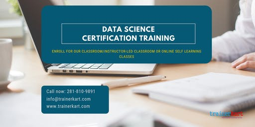 Data Science Certification Training in San Francisco Bay Area, CA