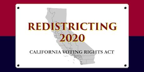 Webinar: Understanding the California Voting Rights Act tickets