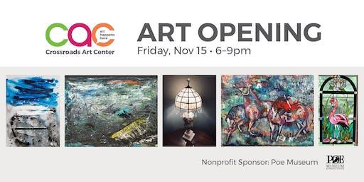 November Open House + Artist Reception
