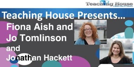 TH Presents Fiona Aish and Jo Tomlinson - Lower level IELTS activities for General English classes tickets