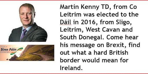 Martin Kenny TD, hosted by Friends of Sinn Fein (Canada) Inc.