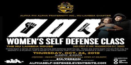 Mu Lambda Women's Self-defense Workshop tickets
