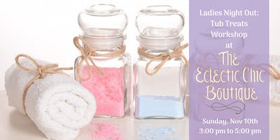 Natural Spa Treats Workshop