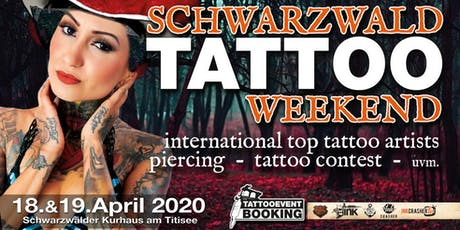 Schwarzwald Tattoo Weekend 2020 Tickets