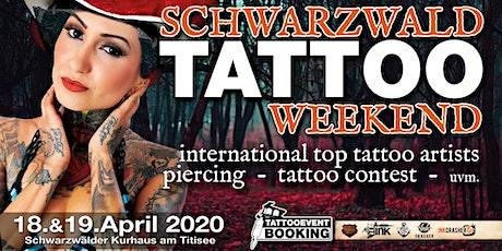 Schwarzwald Tattoo Weekend 2020 billets