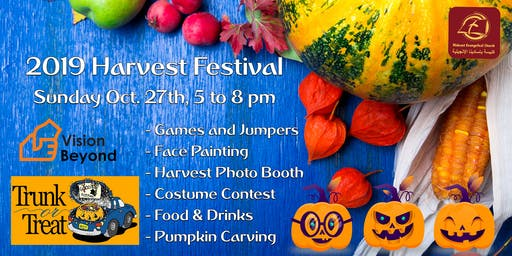 Trunk or Treat - Harvest Festival 2019