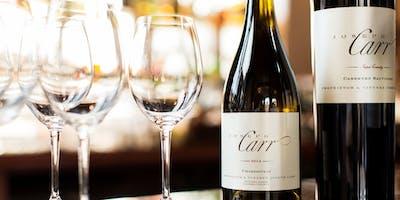 Joseph Carr Wine Dinner with Island Creek Oyster's Jeremy Sewall