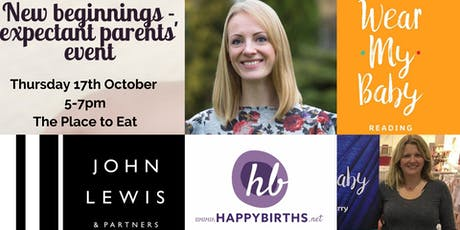John Lewis - new beginnings - expectant parents' event tickets