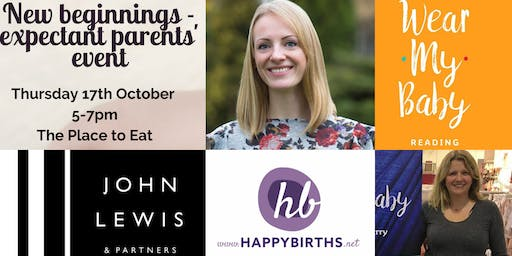 John Lewis - new beginnings - expectant parents' event
