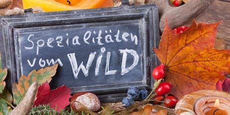 """""""Wild auf Wild"""" Speisen mit Revierjäger Tickets"""