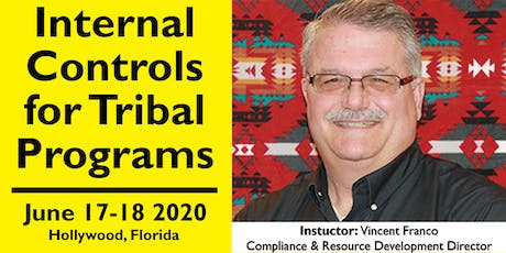 Internal Controls for Tribal Programs Training June 17-18, 2020 tickets
