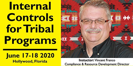 Internal Controls for Tribal Programs Training June 17-18, 2020 tickets