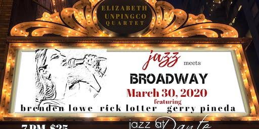 Elizabeth Unpingco Quartet- Jazz Meets Broadway