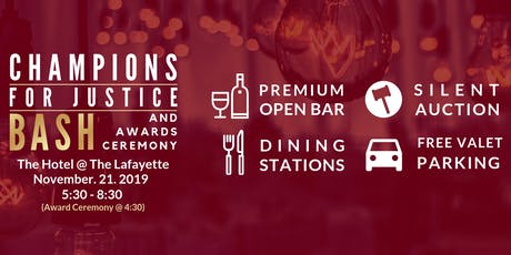 Champions for Justice Bash tickets