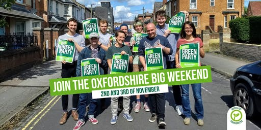 Young Greens Big Weekend in Oxfordshire #YGBigWeekend