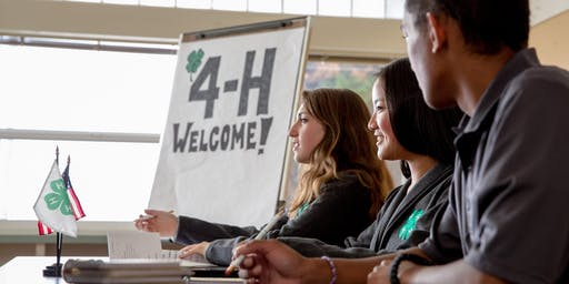 4-H Teen Council Interest Meeting and Pizza Social