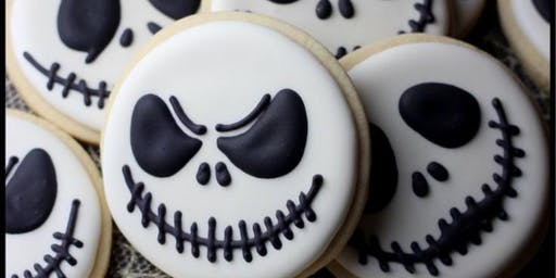 ADULTS 21 and older ONLY- Boozy Halloween Sugar Cookie Decorating Workshop
