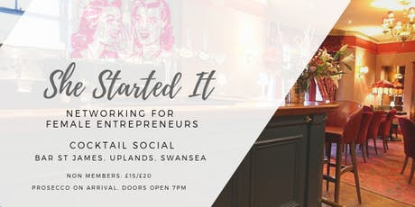 She Started It - Swansea Cocktail Social tickets