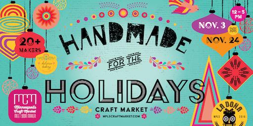 Handmade for the Holidays - November 3