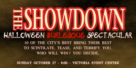 The Showdown Halloween Burlesque Spectacular tickets