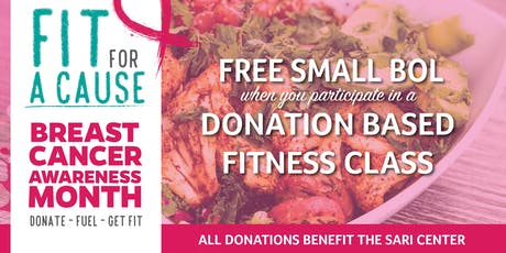 Free Bolay & Fit For A Cause with Zoia Yoga! tickets