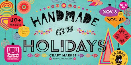 Handmade for the Holidays - November 24 tickets