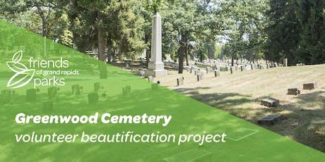 Greenwood Cemetery Volunteer Beautification Project tickets