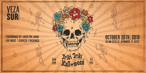 TRIKI TRIKI HALLOWEEN AT VEZA SUR BREWING CO