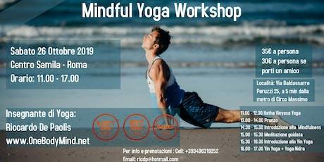 Mindful Yoga Workshop biglietti