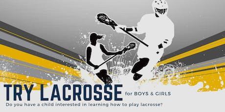Try Lacrosse tickets