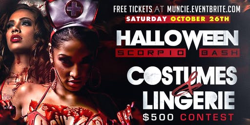 HALLOWEEN SCORPIO BASH: Costumes & Lingerie @ New Club Uggly's.
