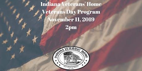 Veterans Day Program tickets