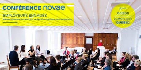 Conférence Novae - Employeurs engagés billets