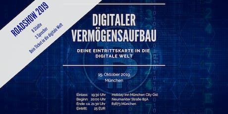 Digitaler Vermögensaufbau Tickets