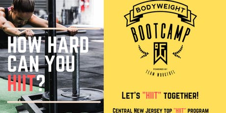 HIIT  Bootcamp tickets